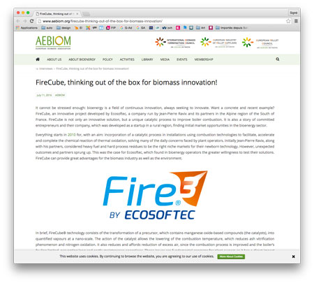 firecube site article
